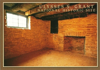 32X Postcard of Ulysses S. Grant National Historic Site (White H